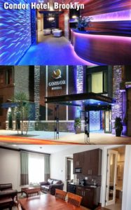 Don't miss the unprecedented luxury offered by Condor Hotel, Brooklyn